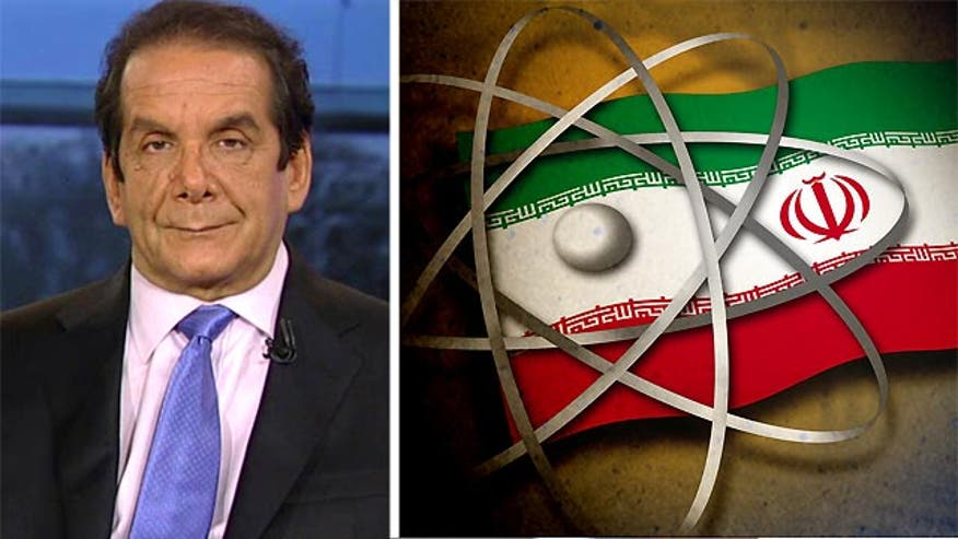 "Syndicated columnist Charles Krauthammer said Friday on ""Special Report with Bret Baier"" that if President Obama gets the United Nations Security Council to agree to a deal with the Iranians, the sanctions regime will, in essence, be over."