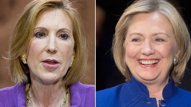 Carly Fiorina slams Hillary Clinton's 'hypocrisy'