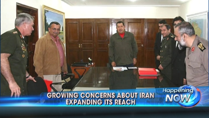 Congress voices concerns Iran might extend its reach into Latin America.