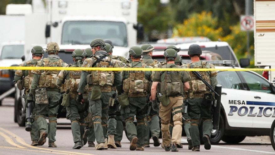 Mesa Police Chief John Mesa confirms arrest
