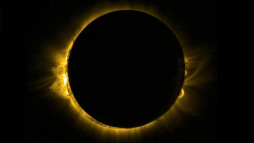 Solar eclipse, supermoon, Spring equinox