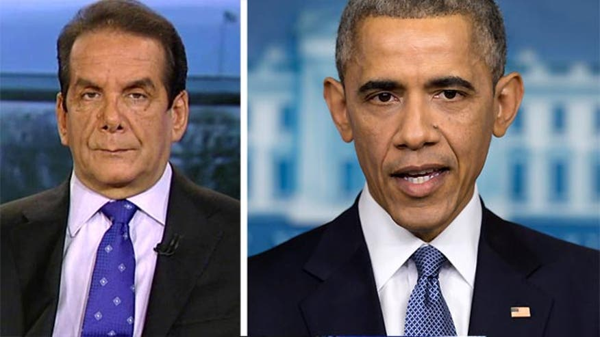 Krauthammer: President's mendacity is remarkable