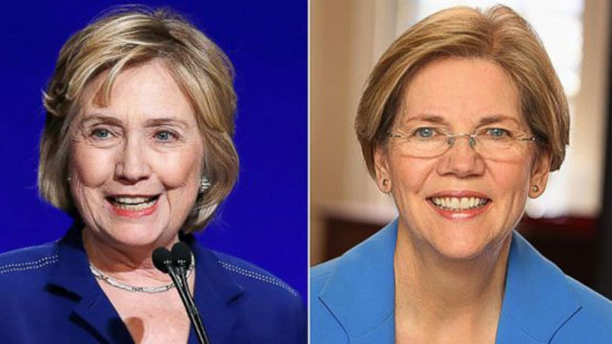 Will Elizabeth Warren be the left's presidential nominee if Hillary Clinton doesn't run?