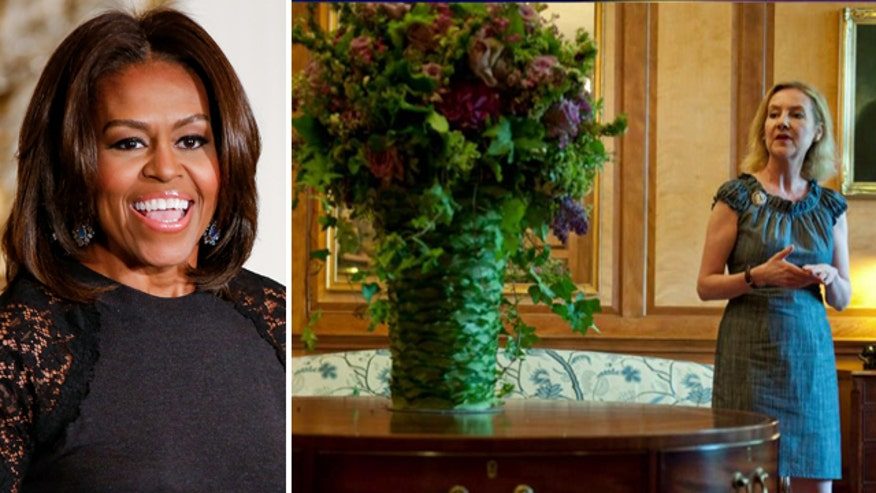 Laura Dowling reportedly clashed with first lady over floral aesthetics