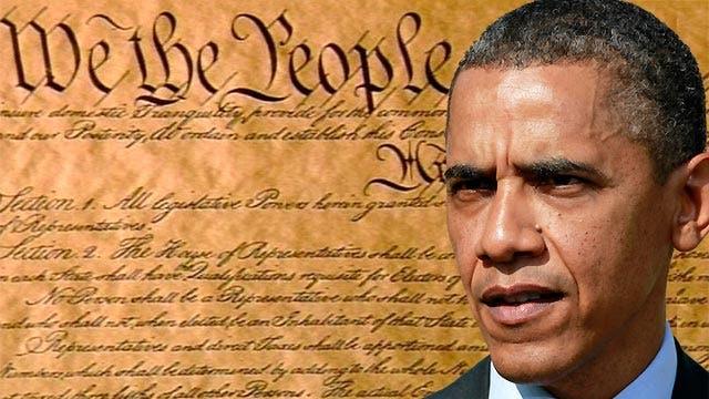 Greta: is Pres. Obama snubbing the Constitution?