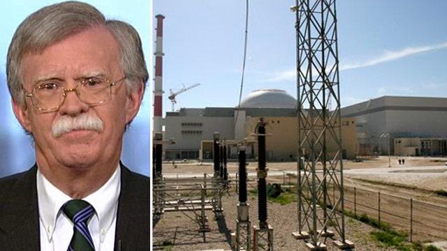 Bolton: To stop Iran, bomb Iran
