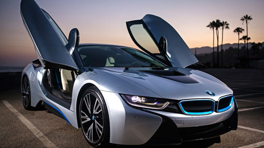 Fox Car Report's Gary Gastelu takes a trip into the future with the 2015 BMW i8