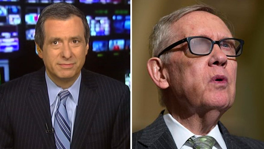 'Media Buzz' host says Sen. Reid's announcement caught the media by surprise