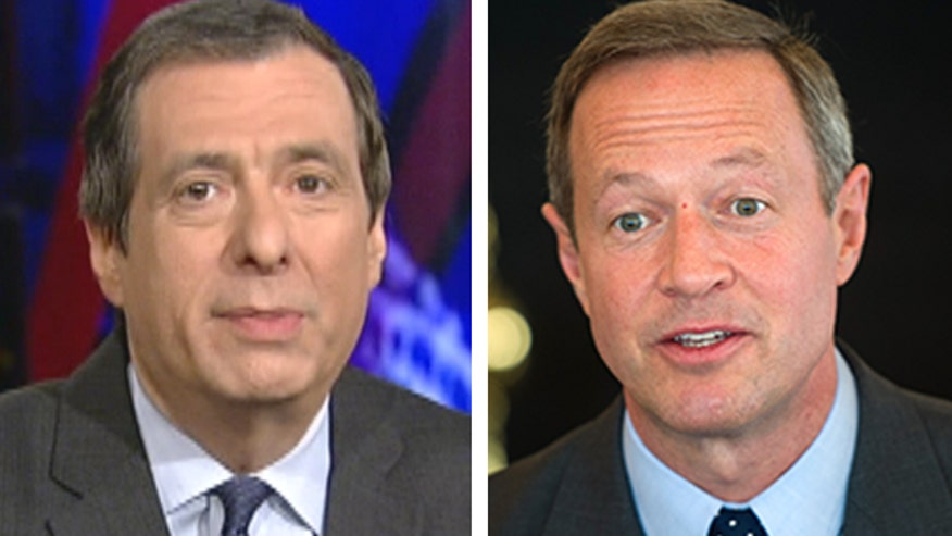 'Media Buzz' host on media coverage of potential 2016 candidate Gov. Martin O'Malley