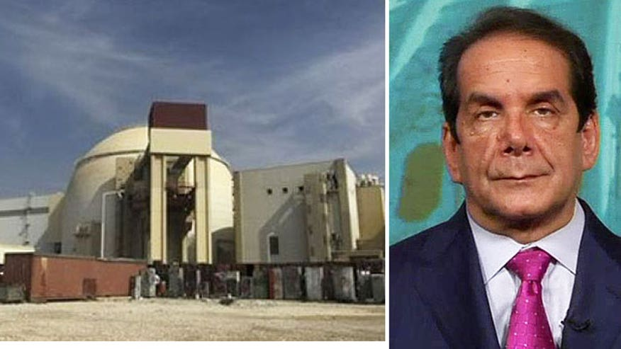 Charles Krauthammer on nuclear negotiations with Iran