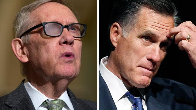 Harry Reid now calls Romney a 'very fine human being' after false 2012 claim he didn't pay taxes