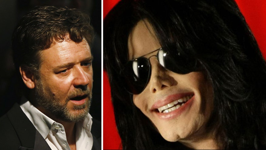 Michael Jackson prank called Russell Crowe for years?