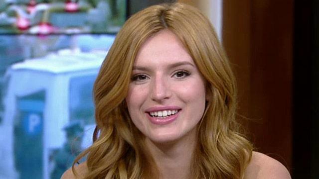 Bella Thorne Snapchats As She Tattoos Her Eyebrows Fox News