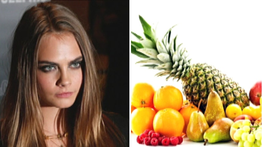 Cara Delevingne celebrates social media milestone with weird pic