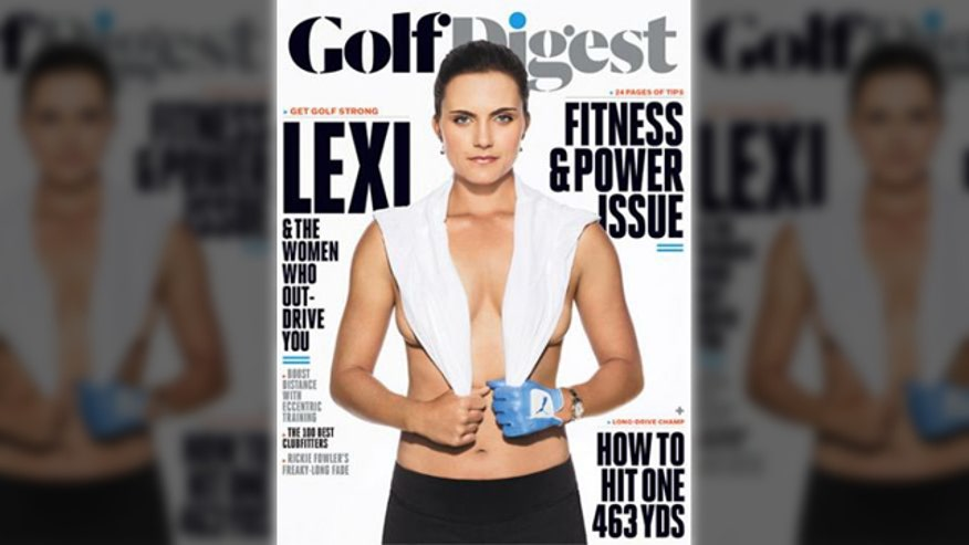 Tamara Holder and Coach Bobby Gonzalez discuss Lexi Thompson topless 'Golf Digest' cover