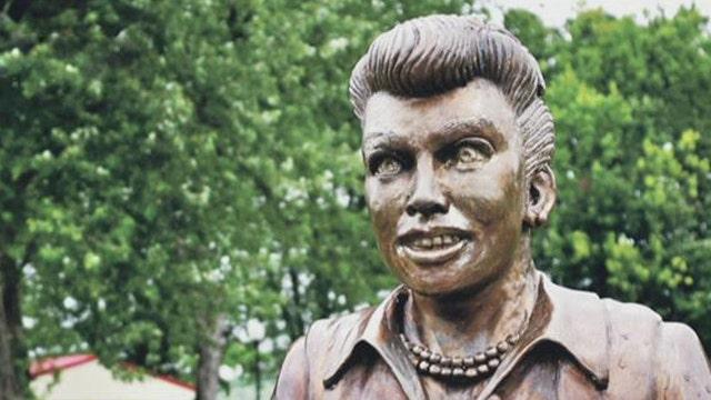 mayor rejects artist u0026 39 s offer to fix  u0026 39 scary u0026 39  lucy statue