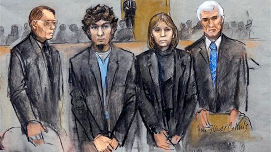 Dzhokhar Tsarnaev convicted