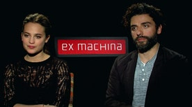 'Ex Machina' stars talk A.I., new film