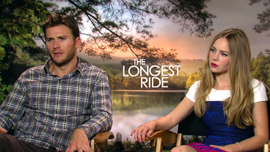Scott Eastwood and Britt Robertson go Face2Face
