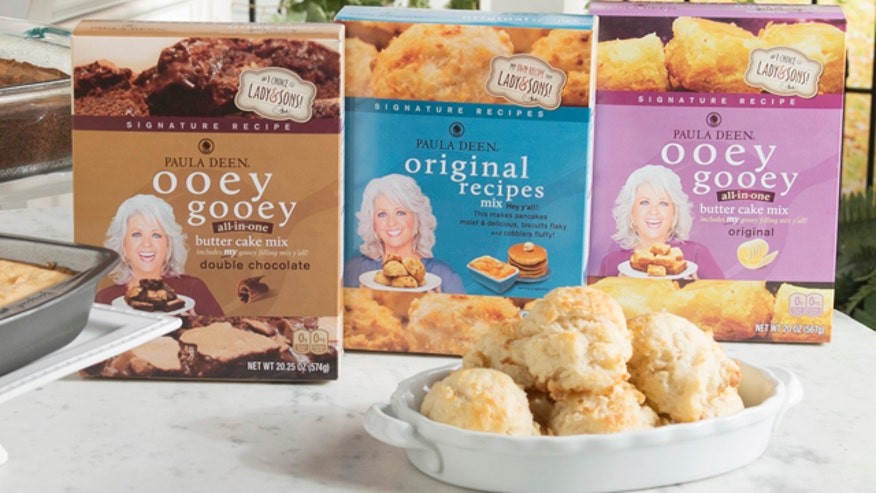 Paula Deen returns to TV with a new line of goodies