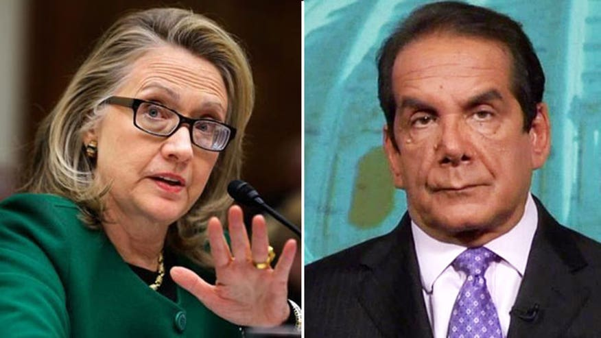 Charles Krauthammer reacts to the former Secretary of State announcing her 2016 presidential bid