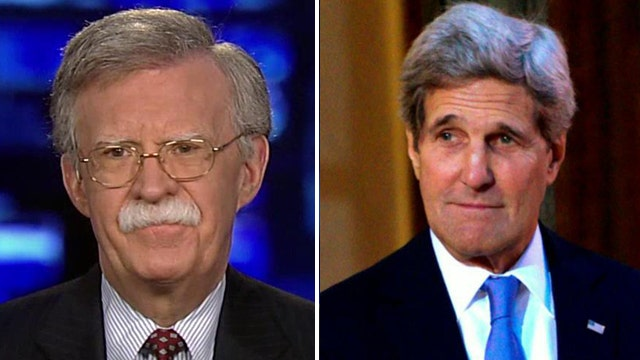Amb. Bolton: Future of Iran deal 'in doubt'