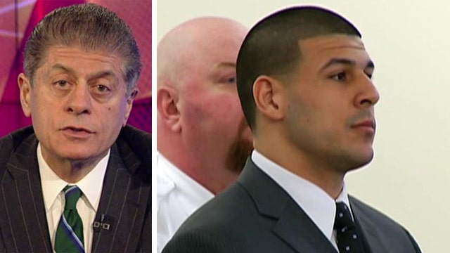 Judge Napolitano breaks down Hernandez guilty verdict