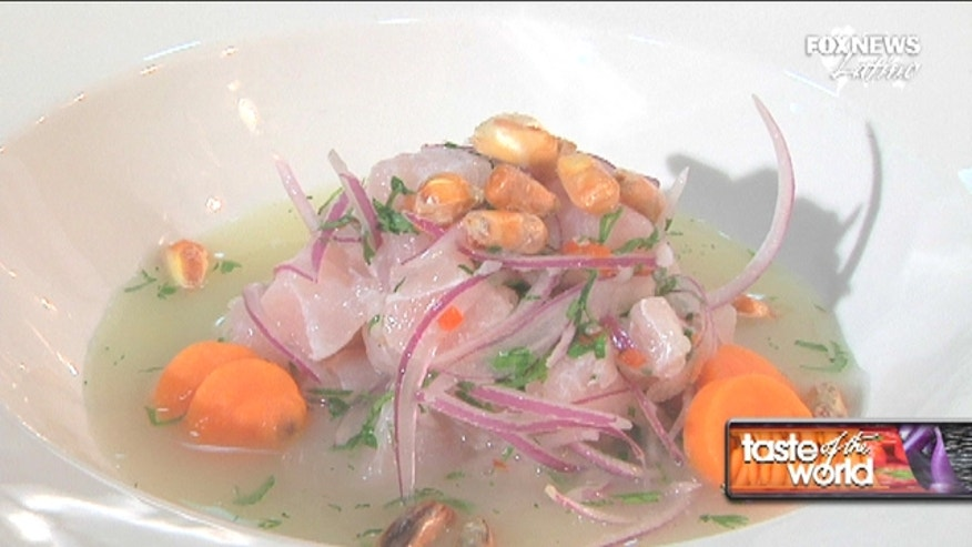 Ceviche is one of the most classic dishes of Peru that is always made with the freshest seafood.