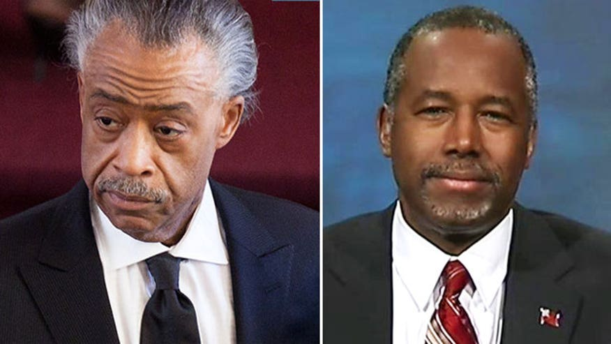 Carson: Sharpton and I have same goal; different opinions how to get there on 'The Kelly File'