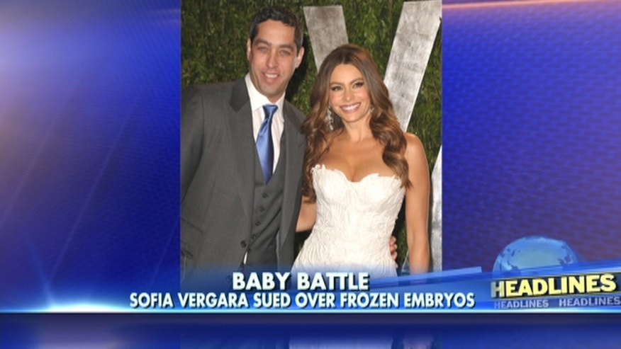 Sofia Vergara sued by former fiance Nick Loeb over two frozen embryos
