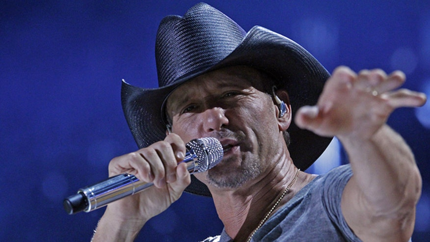 Tim McGraw under fire for Sandy Hook benefit concert