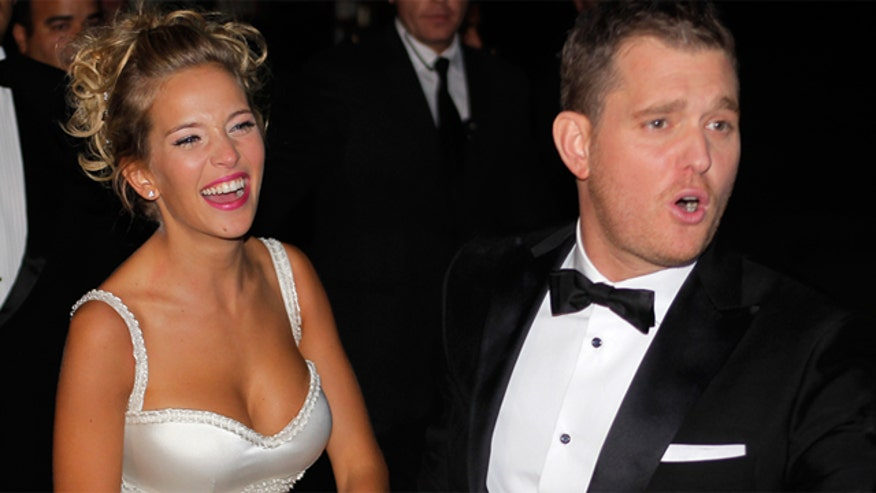 Break Time: Michael Buble body shames stranger after his wife Instagram's her butt.