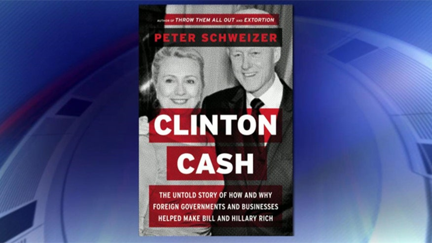 Book details links between foreign donations and Clinton's policy during time as secretary of state