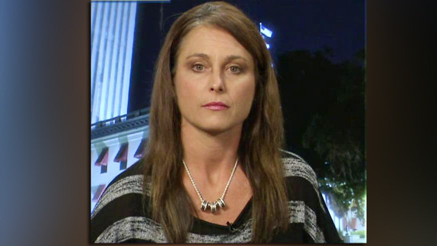 Michelle Manhart tried to stop American flag desecration at university  on 'The Kelly File'