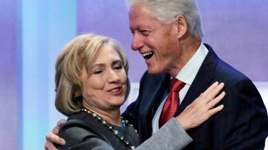 New book says the Clintons are profiting from their charitable foundation