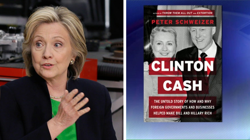 New book claims Clinton altered State Dept. policy in exchange for donations to the Clinton Fund