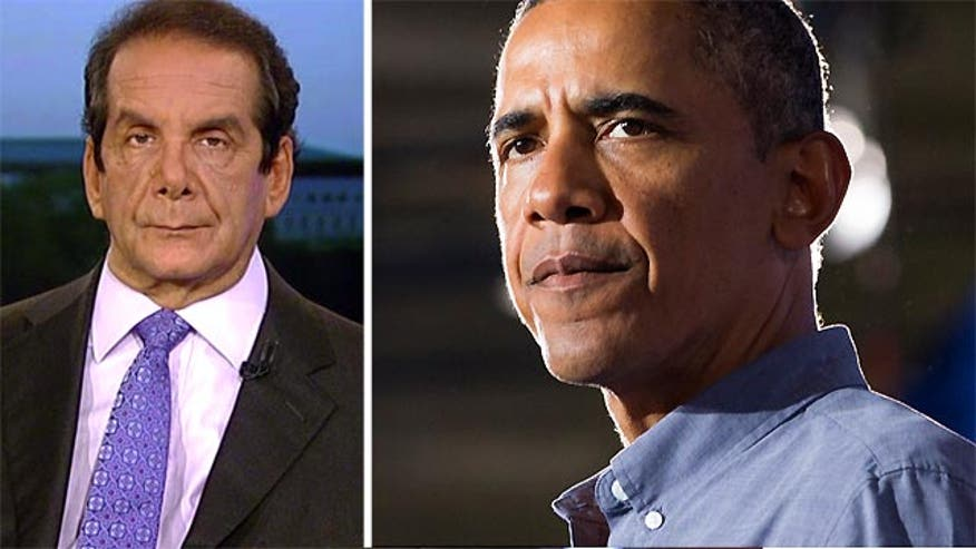 Charles Krauthammer told viewers Tuesday that it should come as no surprise that the Obama administration kept quiet information about how close Iran is to developing a nuclear bomb.