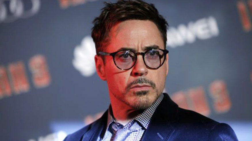Downey Jr. walked out of a sit down interview
