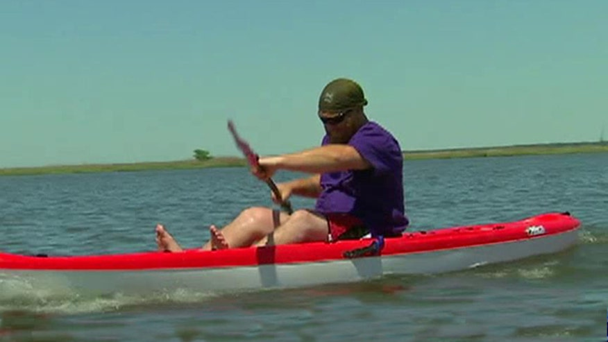 Combat veterans paddle 175 miles to raise awareness