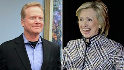 Could Hillary Clinton be worried about former Virginia Sen. Jim Webb? Or is it just coincidence that she has an op-ed piece running in the Des Moines Register on the same day Webb is meeting with Democratic legislators at the Iowa Capitol?