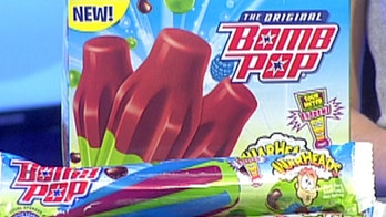 Think you can handle this extremely sour ice pop?