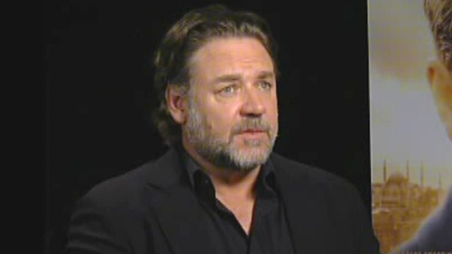 Hollywood heavyweight Russell Crowe returns to big screen