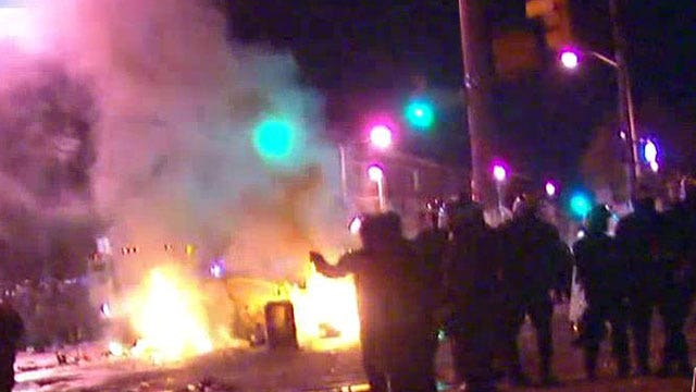 Fox News reporter attacked by crowd in Baltimore