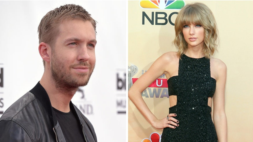 Report says Calvin Harris was dating model, not Taylor's type