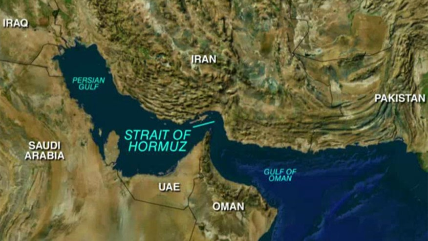 U.S.-flagged container ship encircled near Strait of Hormuz