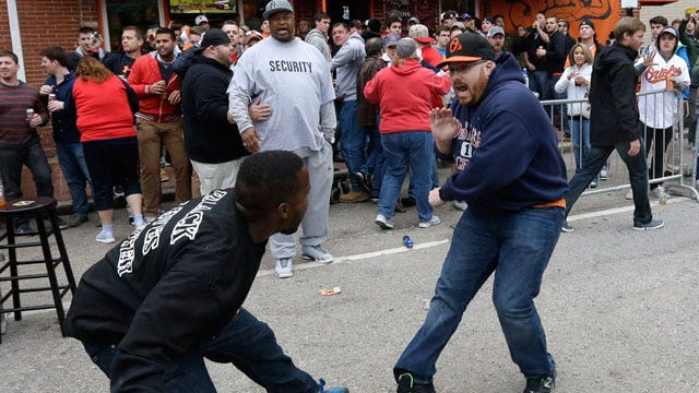 Is it appropriate to call Baltimore rioters 'thugs'?
