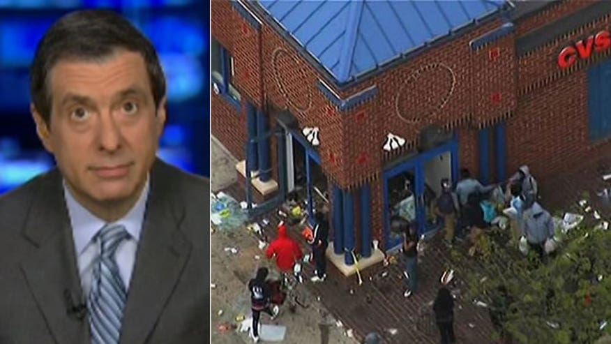 'Media Buzz' host on press coverage of Baltimore protests and looting