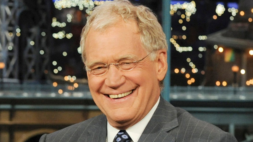 David Letterman talks sex scandal
