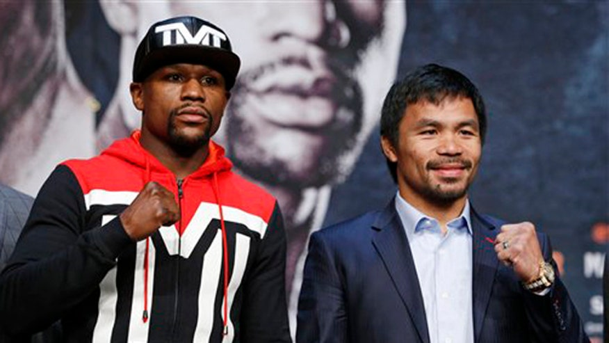 Mayweather-Pacquiao fight brings hundreds-of-thousands of fans and they are opening their wallets