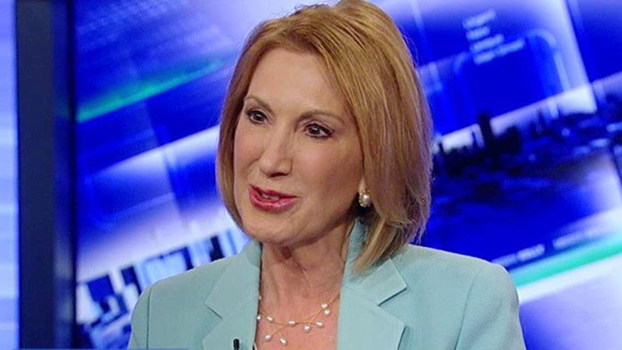 GOP candidate sets her sights on the White House on 'The Kelly File'